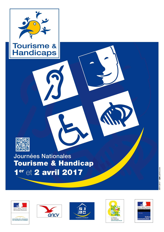 Affiche Journées Nationales Tourisme & Handicap 2017
