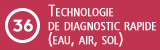 Technologie de diagnostic rapide (eau, air, sol)