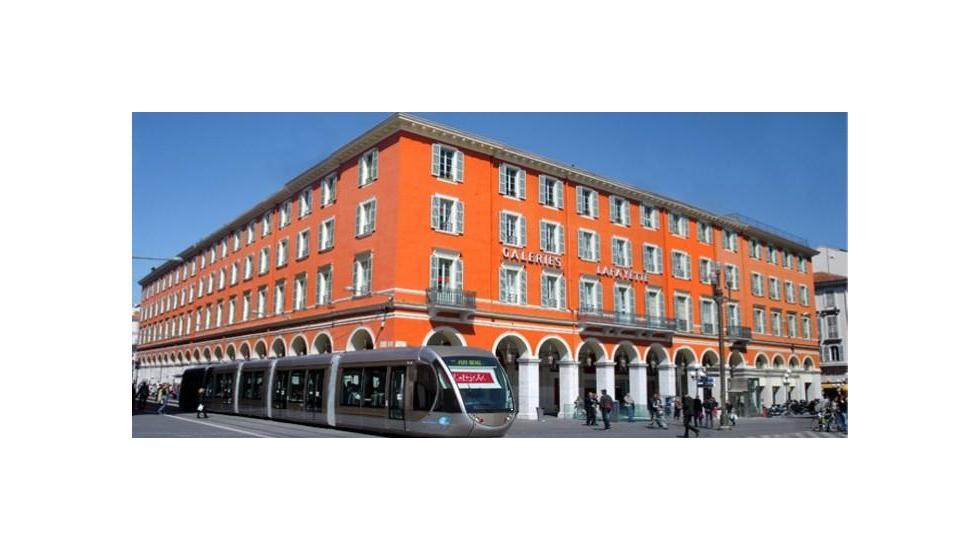 Galeries Lafayette Store In Nice Masséna Direction Générale Des