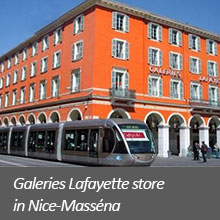 Galeries Lafayette store in Nice-Masséna