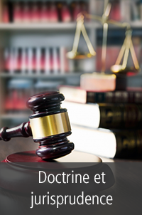 Doctrine et jurisprudence